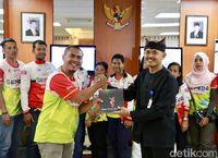 Tim Jelajah Sepeda Nusantara 2018 Mulai Jelajahi Pulau Jawa