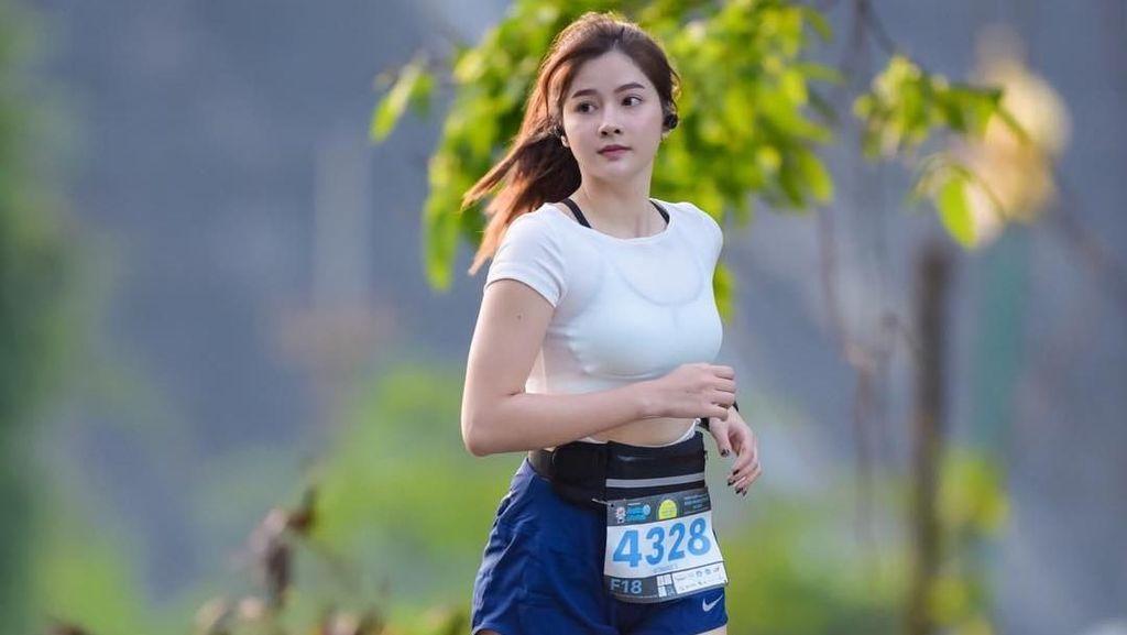 Potret Liburan Atlet Marathon Thailand yang Cantiknya Viral