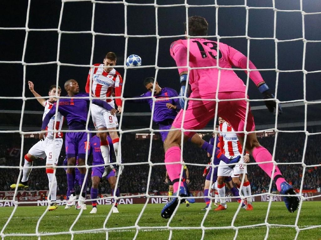 Liverpool Dijegal Red Star Belgrade
