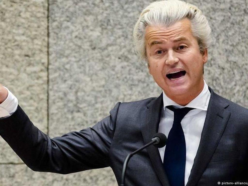 Geert Wilders Tulis Kata Teroris pada Foto Erdogan, Turki Ambil Tindakan