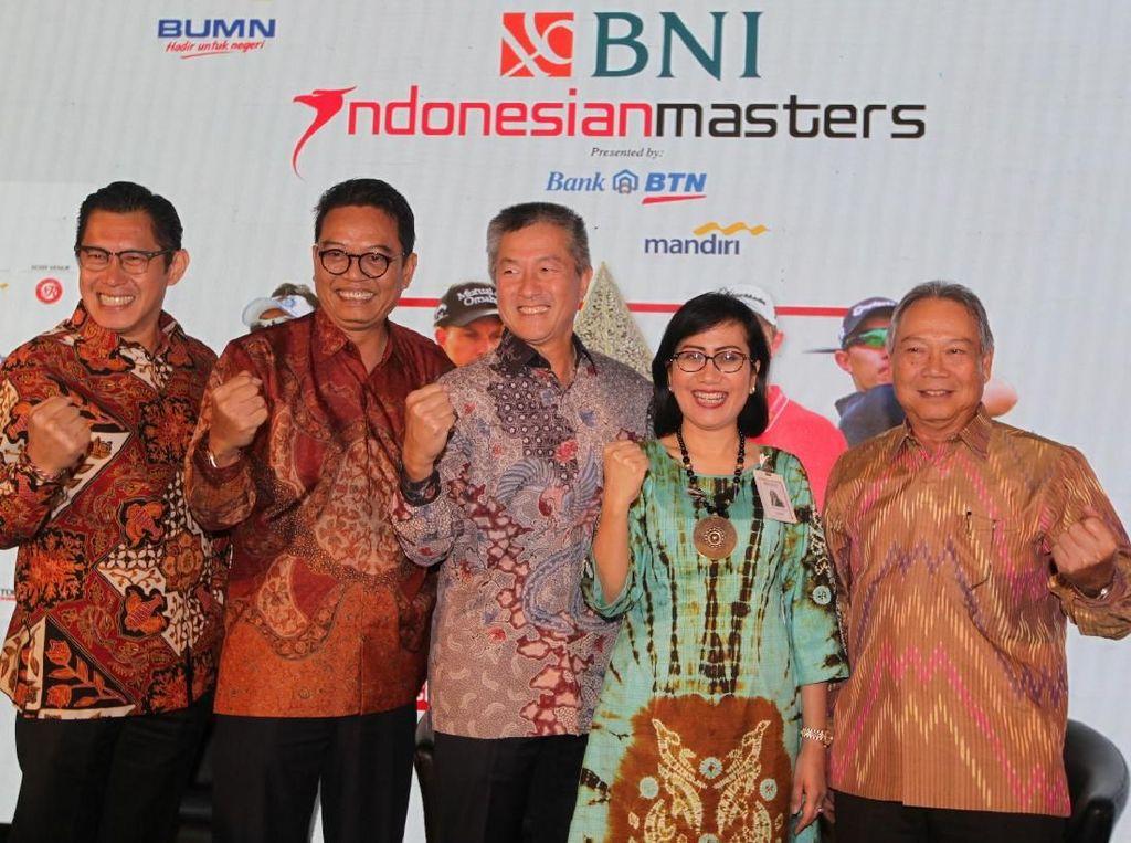 BNI Indonesian Masters 2018 Tawarkan Hadiah Total Rp 11 Miliar