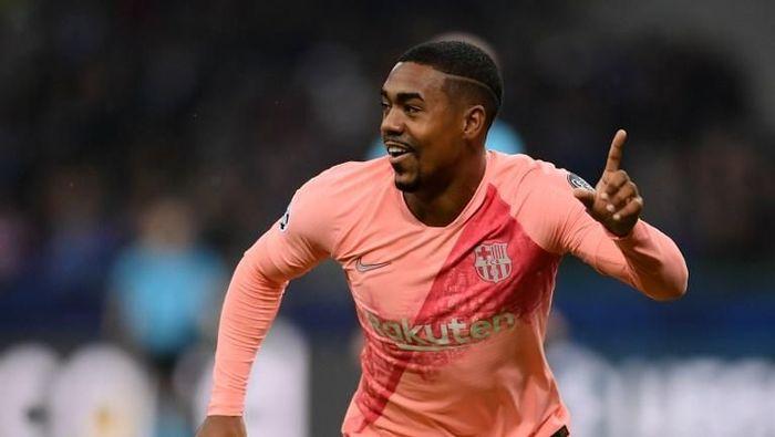 Malcom bisa jadi salah satu pemain yang dilepas Barcelona Januari nanti (Marco BERTORELLO / AFP)