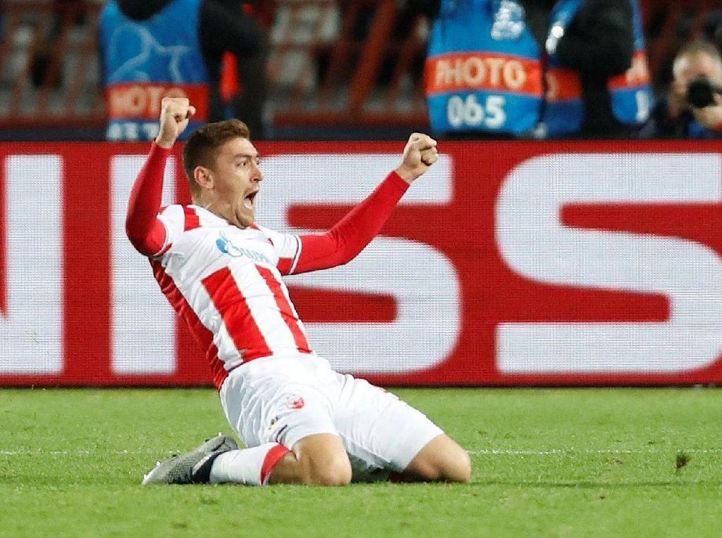 Dua Gol Bersejarah yang Bikin Striker Red Star Ini Susah Tidur