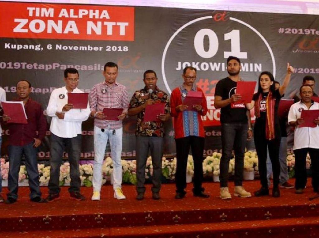 Deklarasi Tim Alpha Zona NTT Dukung Jokowi-Maruf Amin