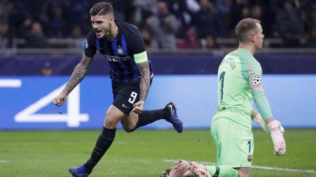 Mauro Icardi membidik kemenangan di kandang Juventus.