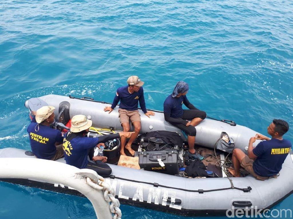 Penyelam TNI AL Cerita Kendala Cari CVR Black Box Lion Air PK-LQP