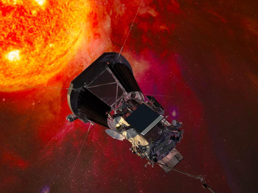 Pesawat NASA Terbang Kian Dekat ke Matahari