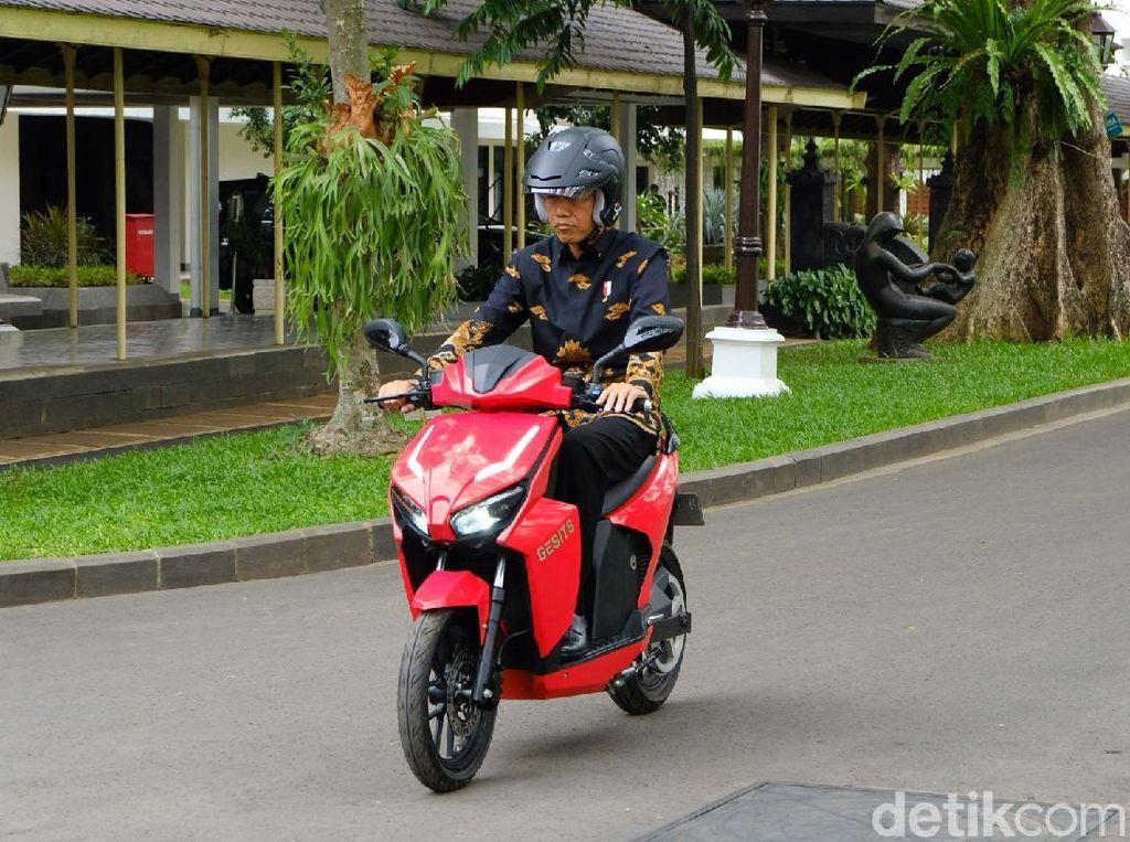 5 Fakta Motor Listrik Jokowi yang Laku Rp 2,55 Miliar