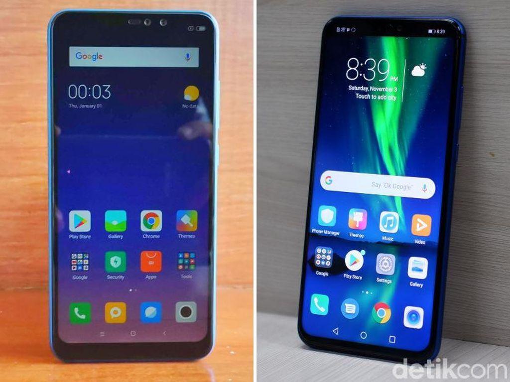 Rilis Bareng, Yuk Bandingkan Xiaomi Redmi Note 6 Pro dan Honor 8X