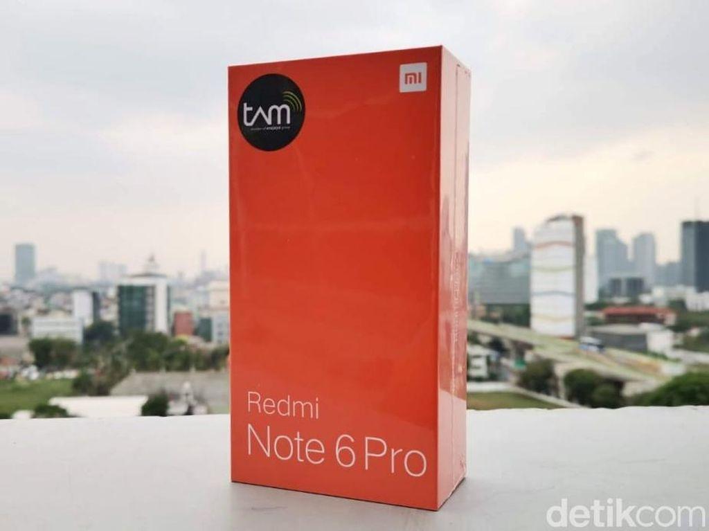 Unboxing Redmi Note 6 Pro, Ponsel Empat Kamera Pertama Xiaomi