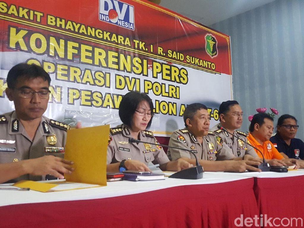 7 Korban Lion Air PK-LQP Teridentifikasi Lagi, 1 Anggota DPRD