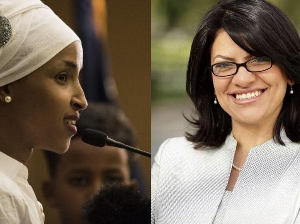 Pertama Kali, 2 Wanita Muslim Resmi Terpilih Jadi Anggota Kongres AS