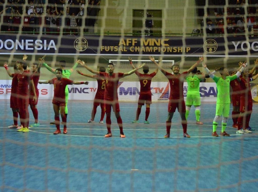 Timnas Futsal Indonesia Raih Tempat Ketiga Piala AFF 2018