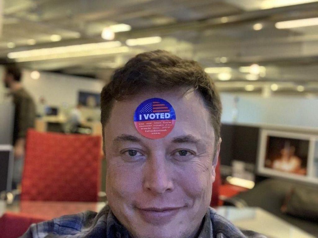 Elon Musk Pamer Sudah Nyoblos di Pemilu Sela AS
