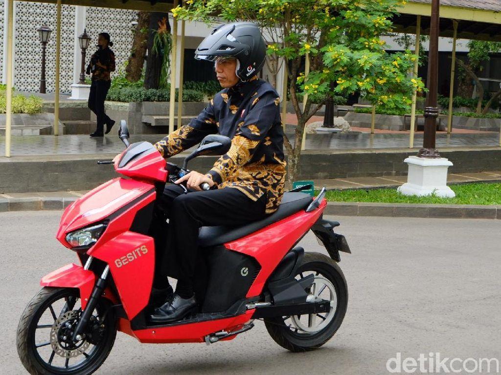 Transformasi Motor Gesits dari Prototipe sampai Dicoba Jokowi