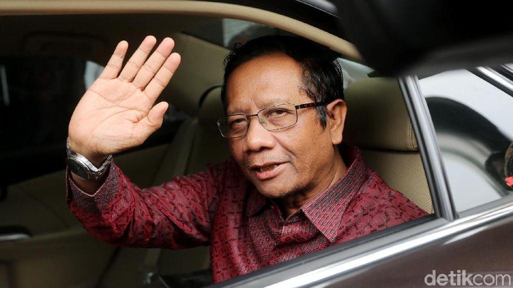Bahas Korupsi, Mahfud MD Sambangi KPK