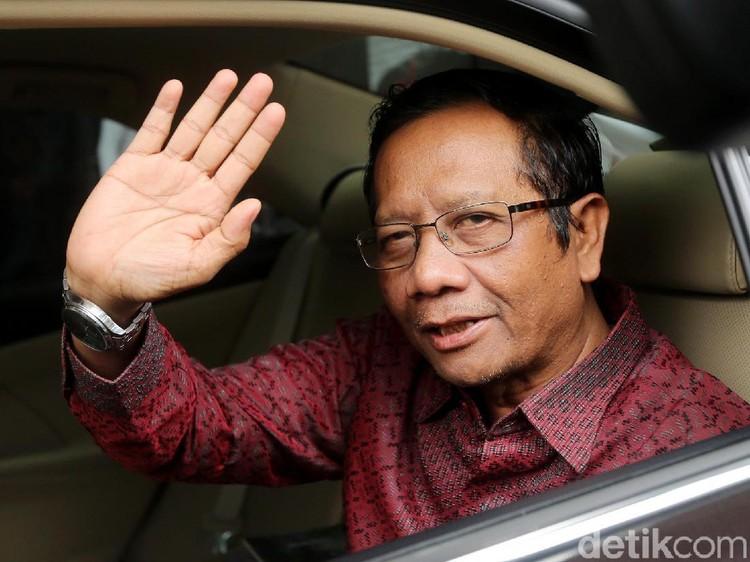 Prabowo Bicara Chief of Law Enforcement Officer, Mahfud: Isu Setiap Pilpres