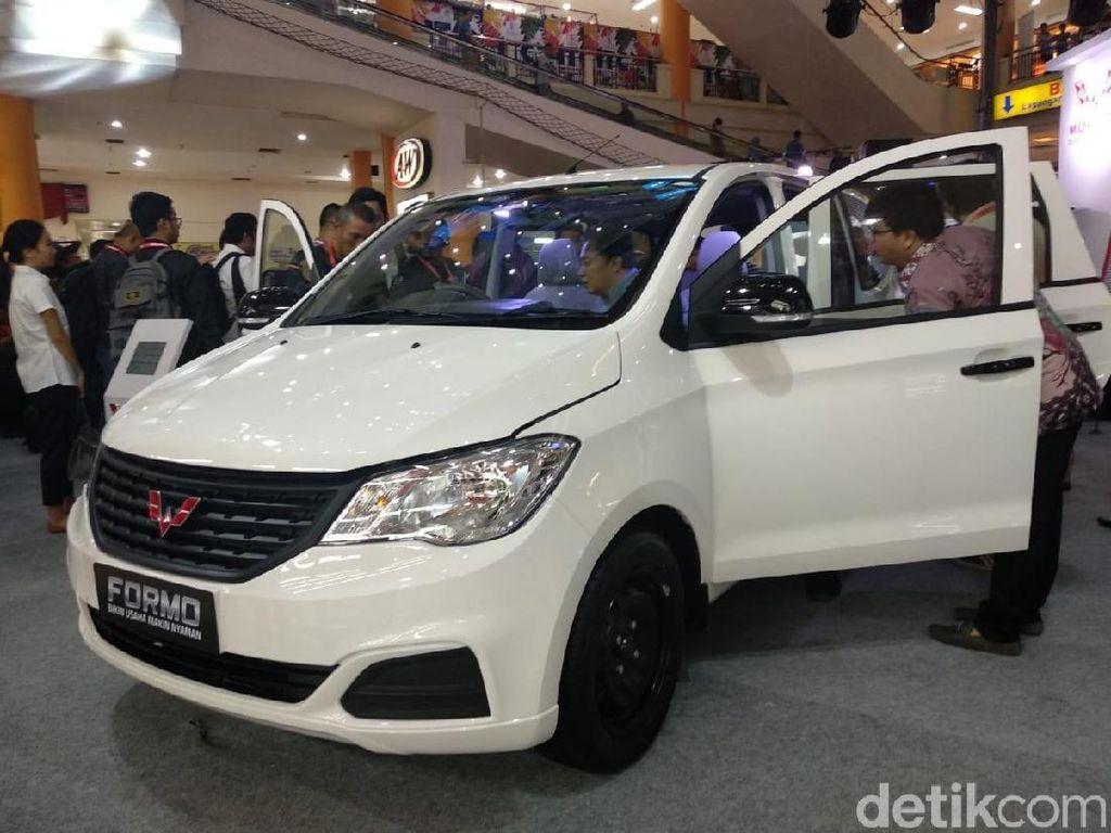 Intip Spesifikasi Formo 1.200 cc, Mobil Van Punya Wuling