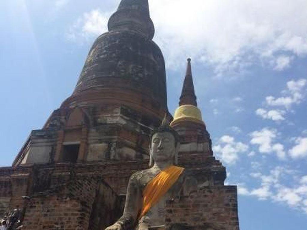 Upaya Thailand Lindungi Ayutthaya Warisan Budaya UNESCO dari Banjir