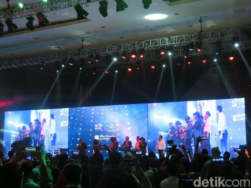Ini Hasil Konferensi Ekonomi Kreatif Dunia Pertama di Bali