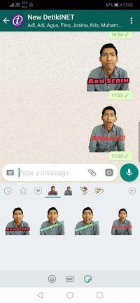 Cara Bikin Stiker WhatsApp Pakai Foto Sendiri