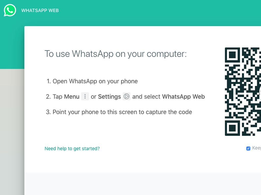 Data Pengguna WhatsApp Web Dilaporkan Bocor