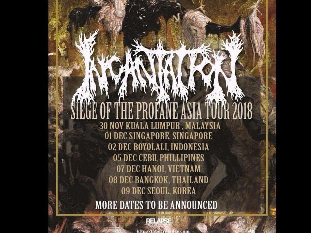 Dibecandain Prabowo, Boyolali Akan Didatangi Band Metal Incantation