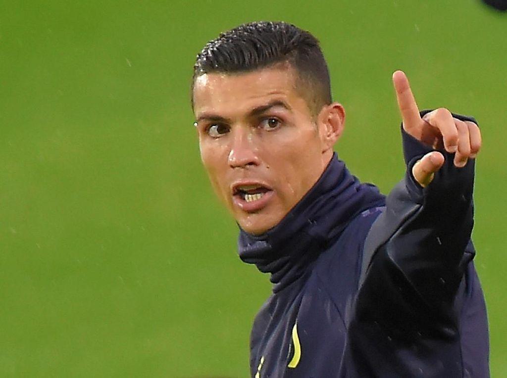 Juventus vs MU: (Masih) Menanti Gol Ronaldo di Liga Champions