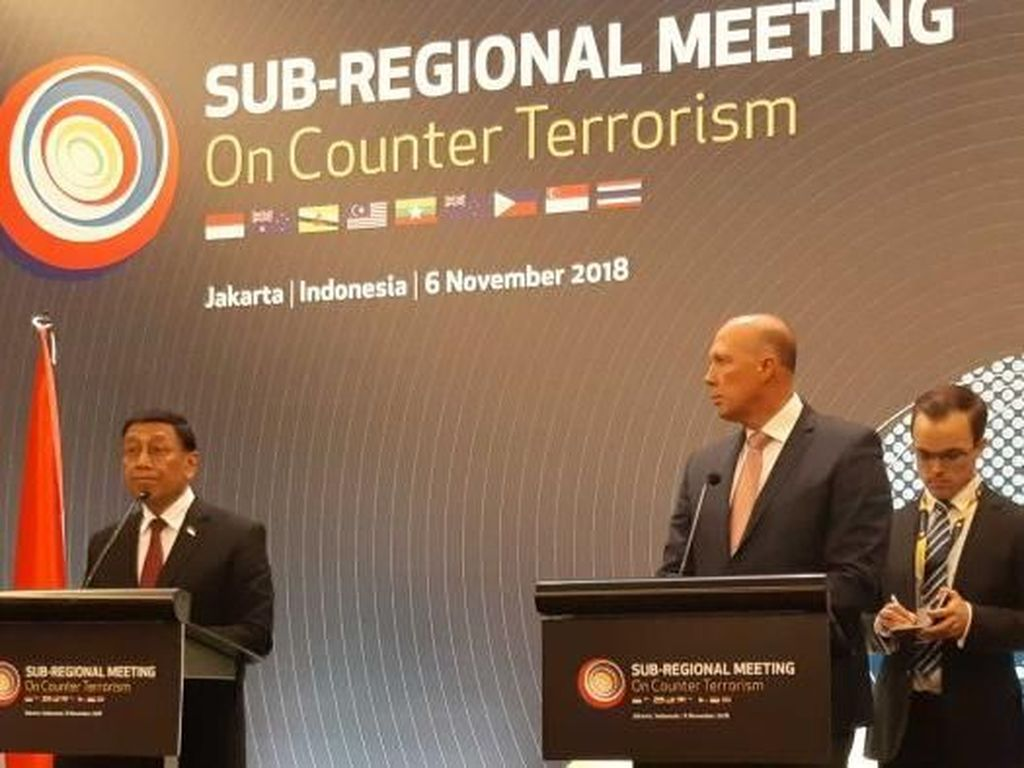 Australia-Indonesia Pererat Kerjasama Cegah Terorisme Dari Medsos