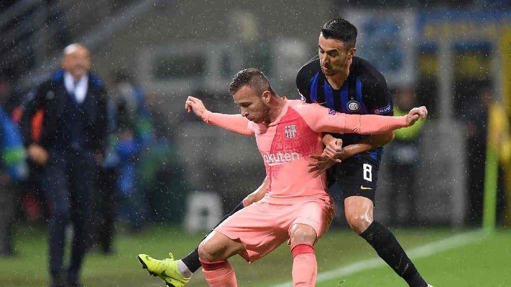 Dominasi Barcelona tak Berarti bagi Inter