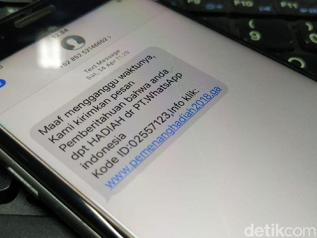 Marak SMS Spam, Wasit Telekomunikasi Buka Suara