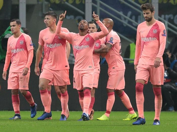 Pemain Barcelona, Malcom. (Foto: Emilio Andreoli/Getty Images)