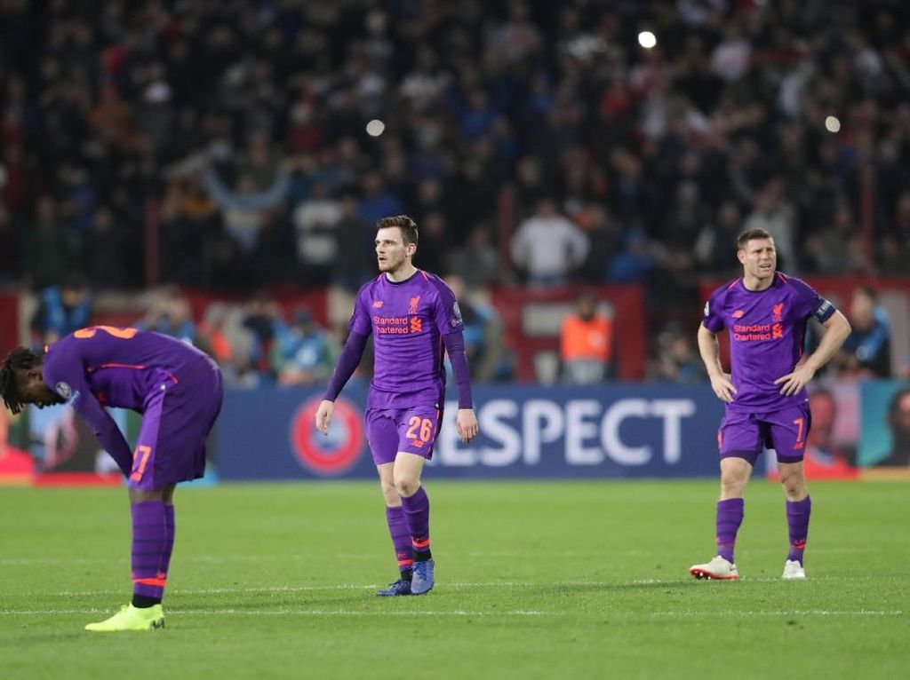 The Reds Lagi Dijauhi Dewi Fortuna