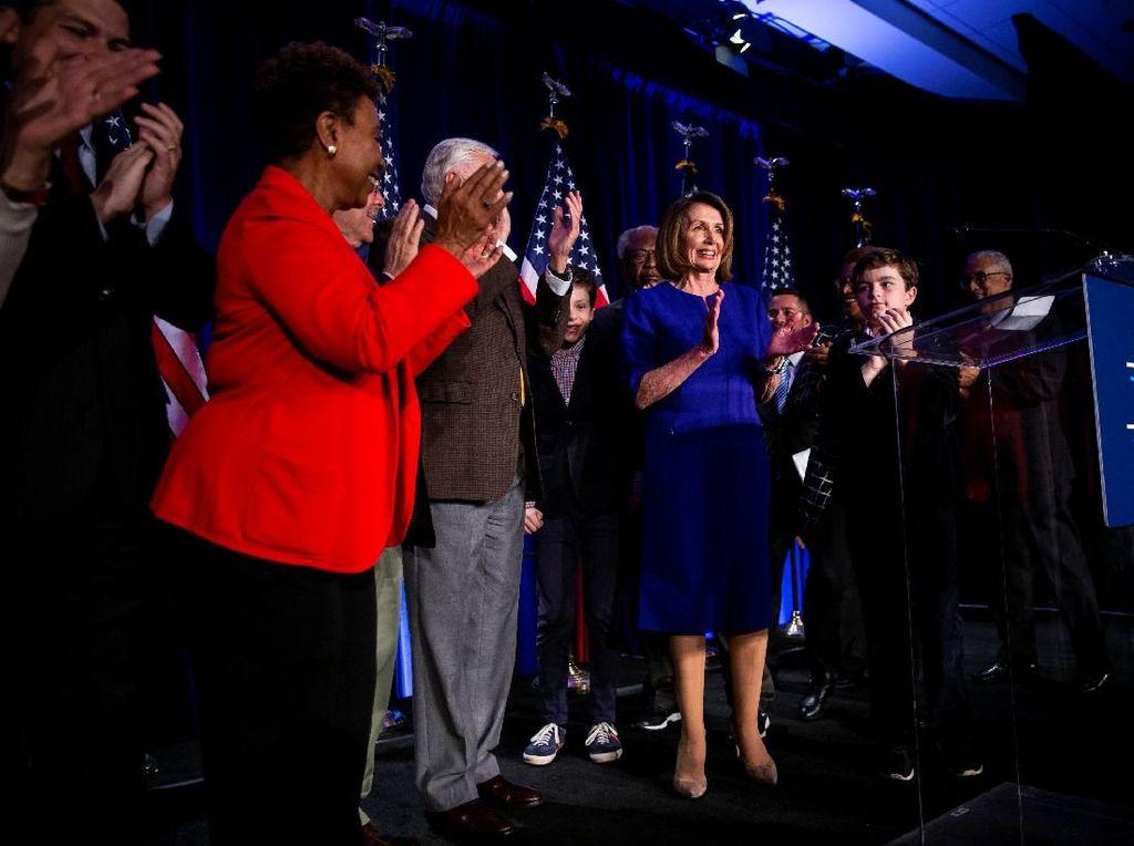 Partai Demokrat Rebut Kendali DPR AS, Republik Masih Dominasi Senat