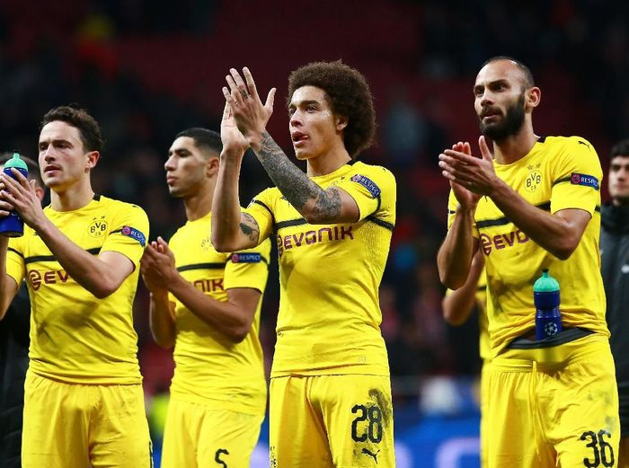 Borussia Dortmund menelan kekalahan pertamanya musim ini saat bertamu ke Atletico Madrid (Gonzalo Arroyo Moreno/Getty Images)