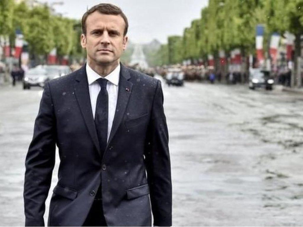 6 Orang Ditangkap karena Berencana Serang Presiden Prancis