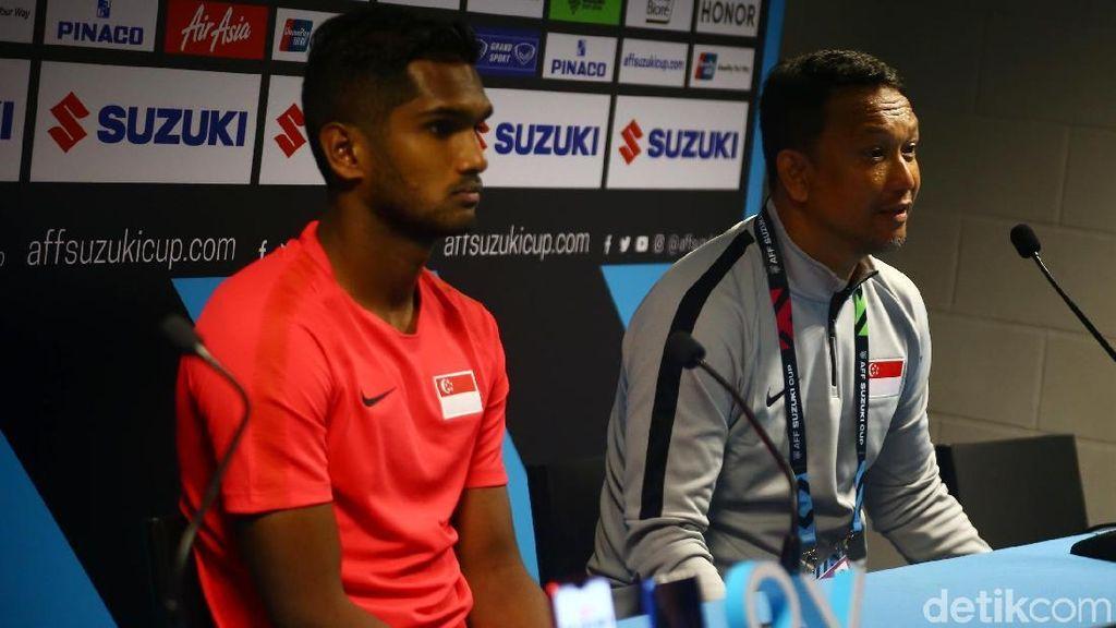 Gurauan Pelatih Singapura: Butuh Bantuan Polisi untuk Hentikan Febri
