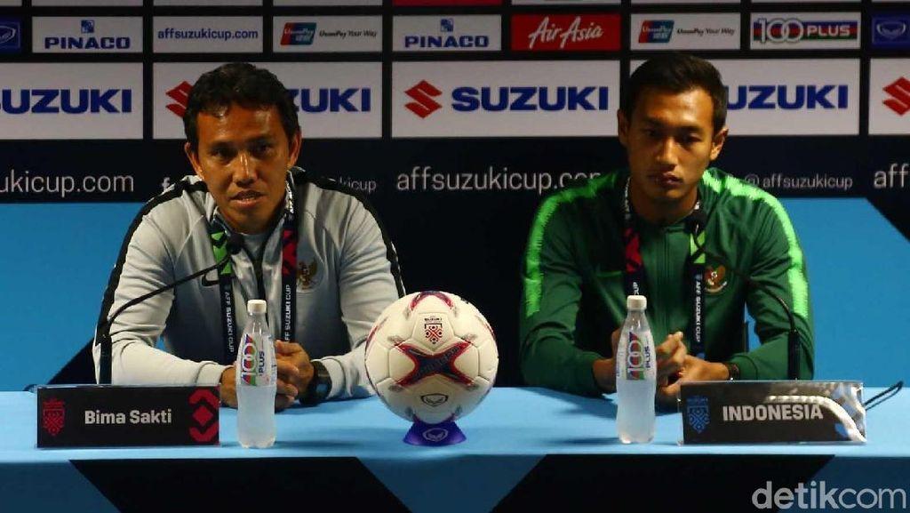 Bima Sakti Pede Hadapi Laga Pertama Piala AFF