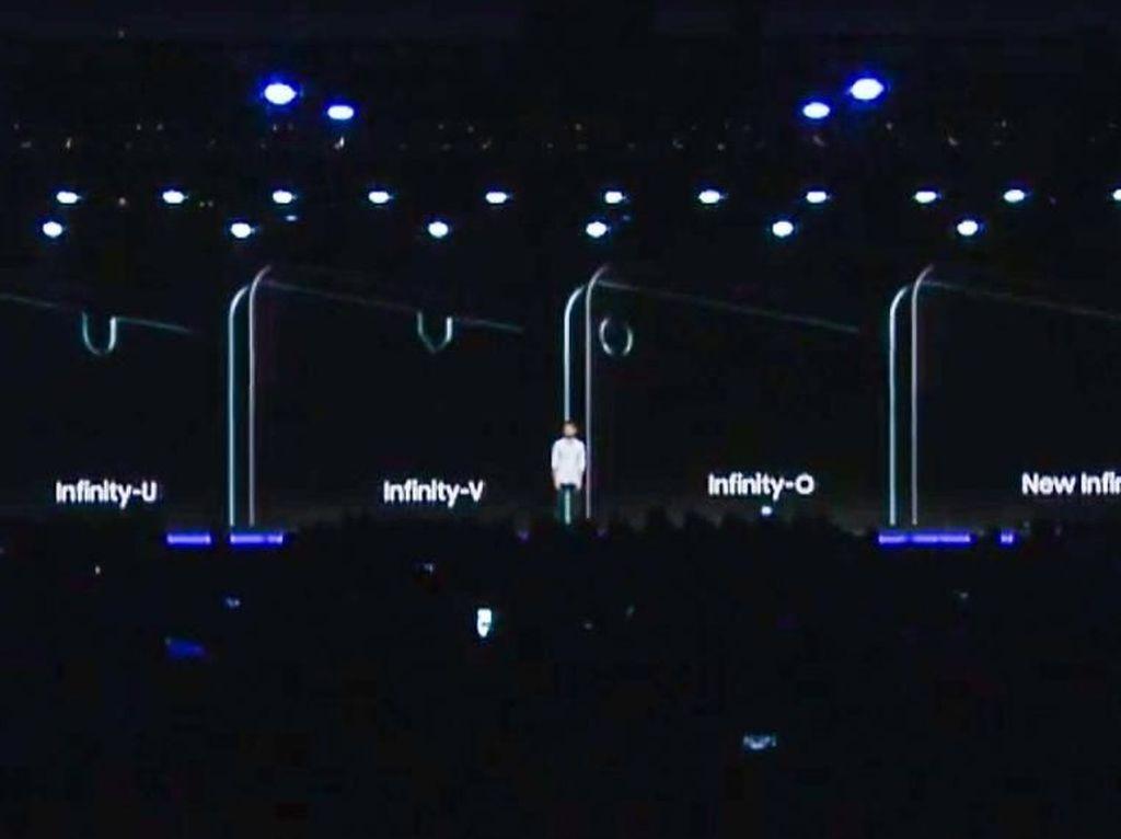Pengumuman, Ponsel Samsung Akhirnya Bakal Berponi