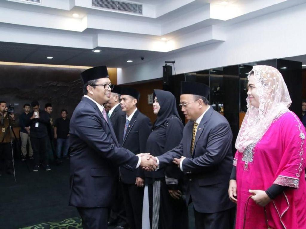 Lantik Anggota PAW, Ini Pesan Pimpinan MPR RI