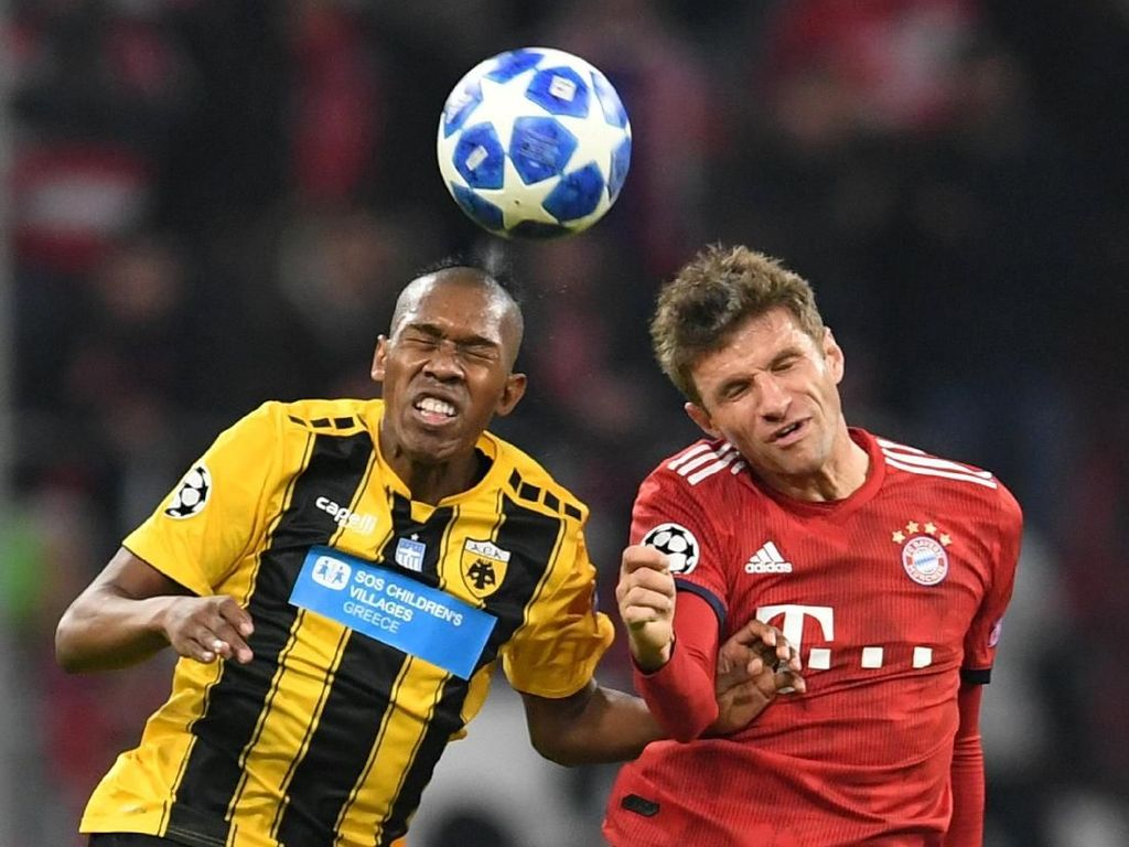 Hasil Liga Champions: Bayern Atasi AEK 2-0