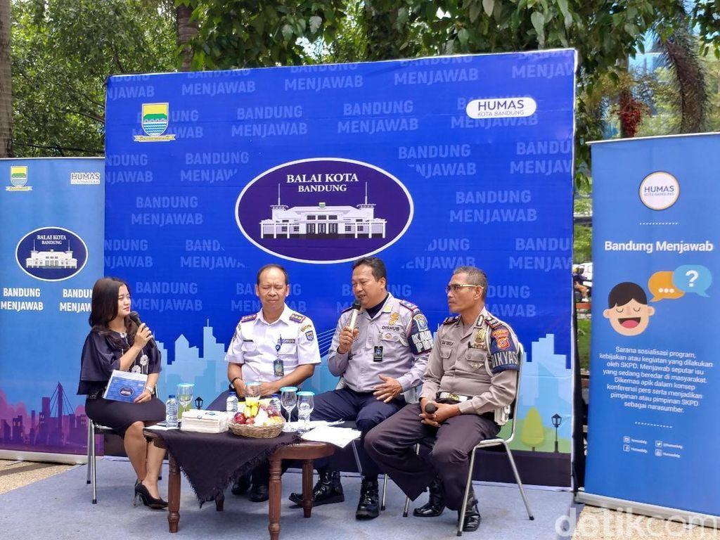 Perhatian, Mulai Senin Parkir Sembarangan di Bandung Dicabut Pentil!
