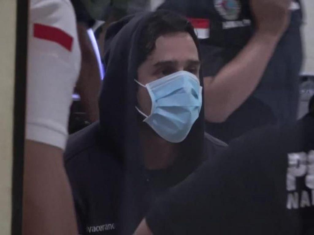 Ditangkap karena Narkoba, Claudio Martinez Langsung Diperiksa