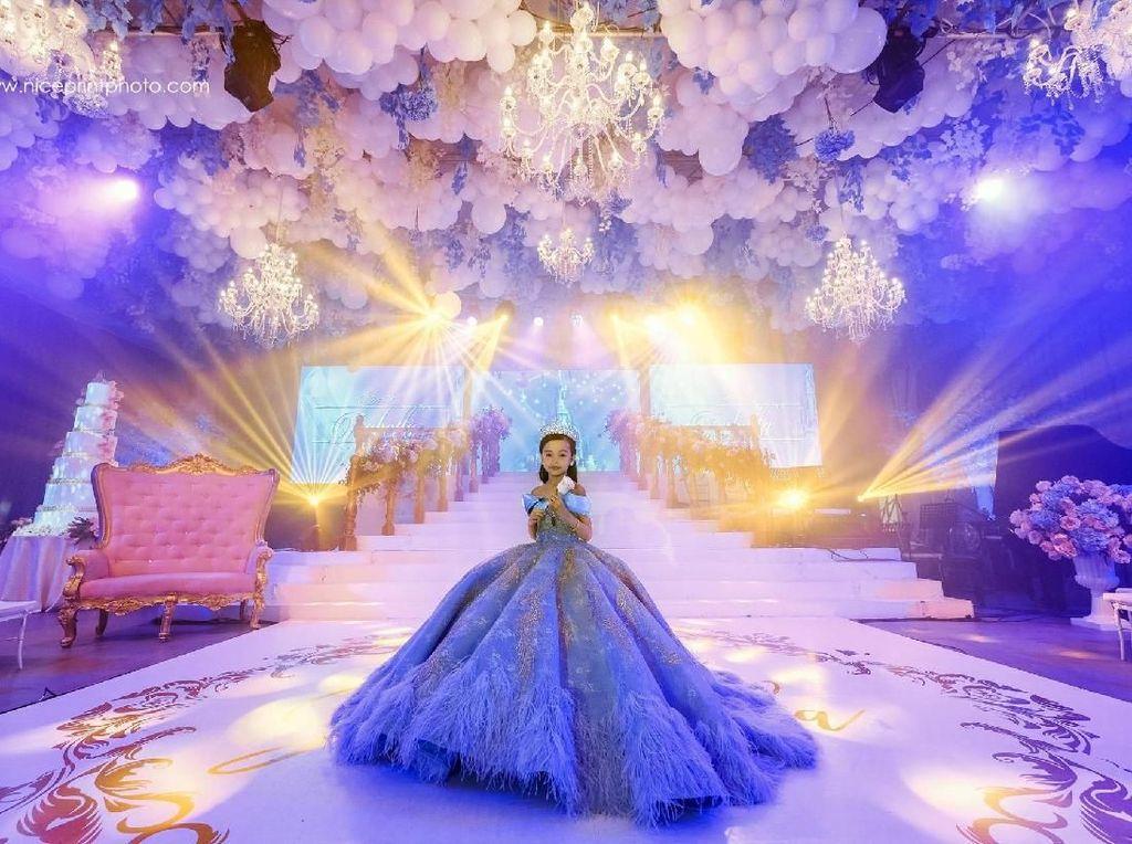 Viral, Pesta Ultah ke-7 Anak Bos MLM yang Super Mewah bak Pernikahan