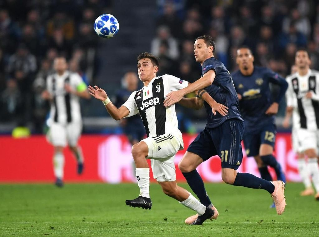 Tak Ada Gol di Babak Pertama Juventus Vs MU