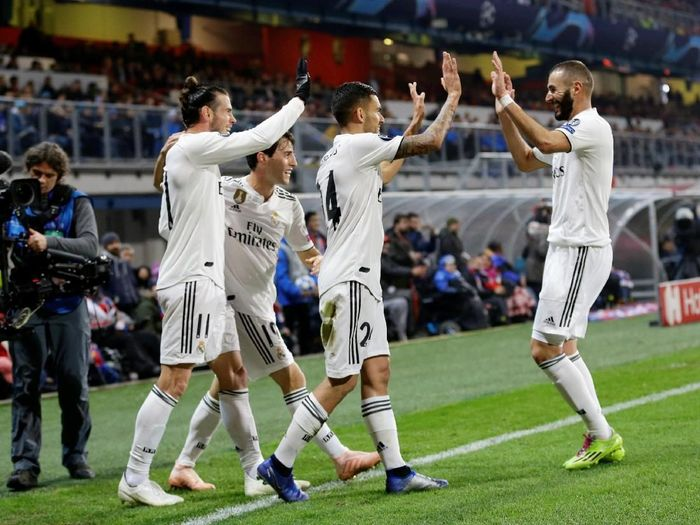Real Madrid tengah on fire. (Foto: David W Cerny/REUTERS)