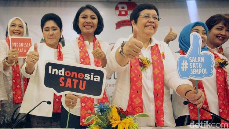 Perempuan Keren Bravo 5 Dukung Jokowi-Maruf Amin