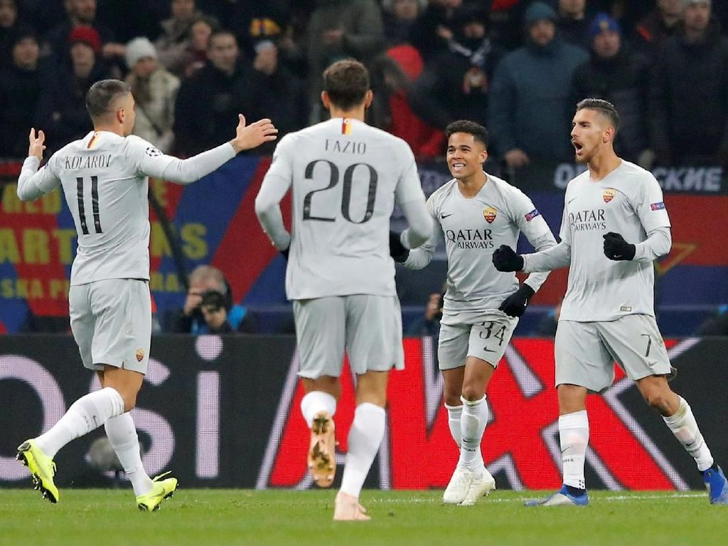 Jangan Beri Madrid Kesempatan Mainkan Bola, Roma!
