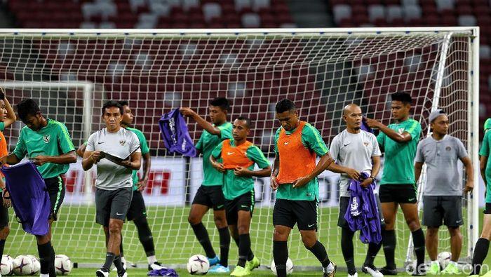 Timnas Indonesia akan mengawali langkahnya di Piala AFF 2018 dengan menghadapi Singapura (Foto: Pradita Utama)