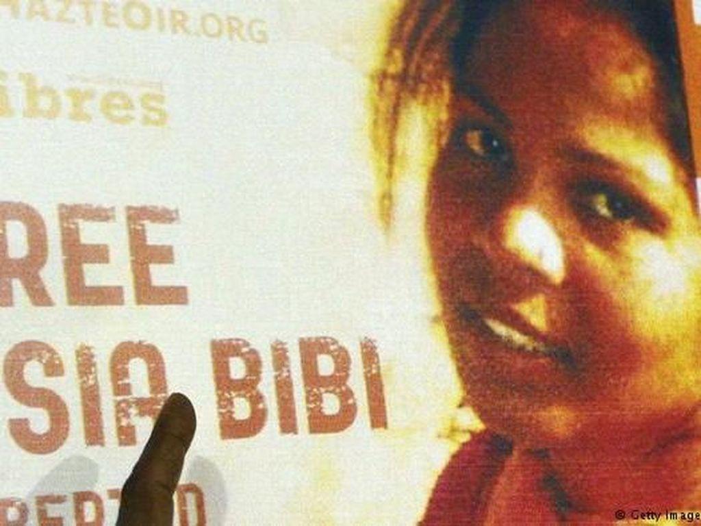 Batal Dihukum Mati Atas Penistaan Agama, Asia Bibi ke Islamabad